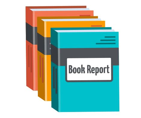 Novel with a book report